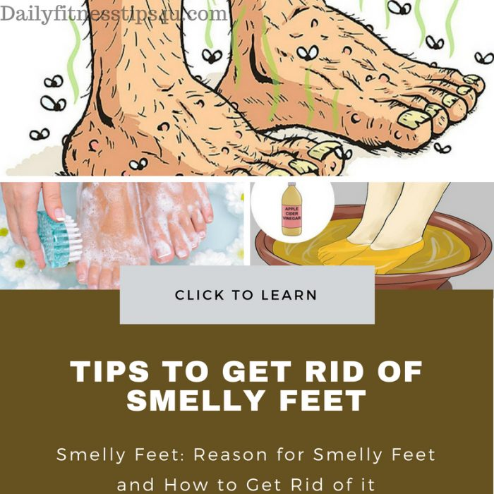 Tips for Getting Rid of Smelly Feet