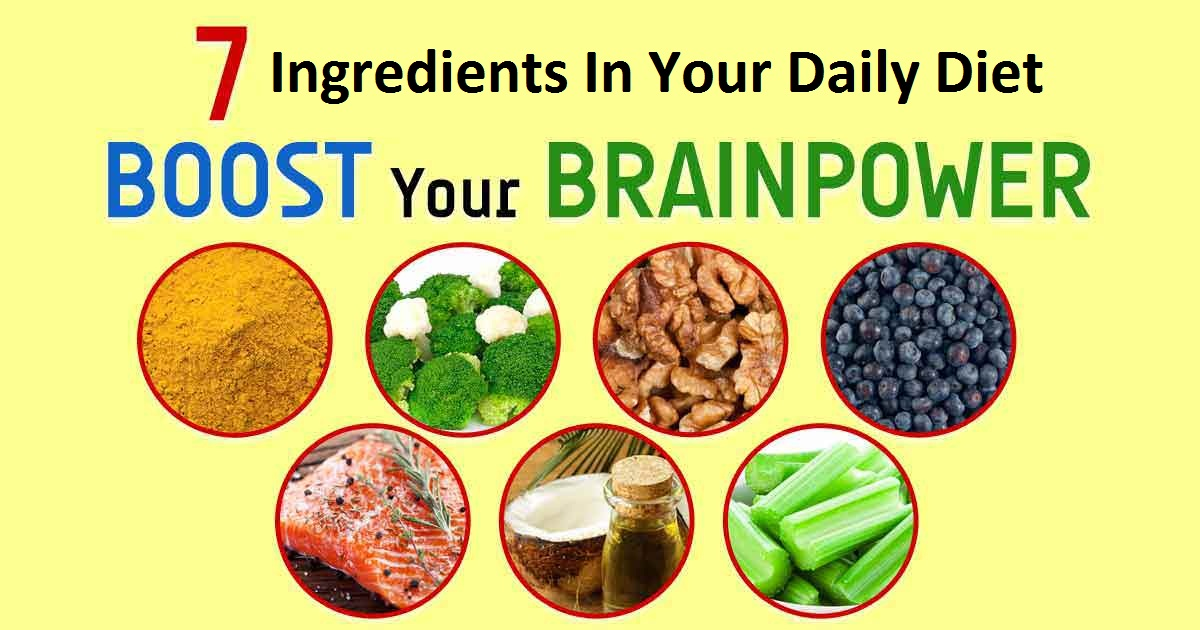 Daily Diet To Improve Brain Power