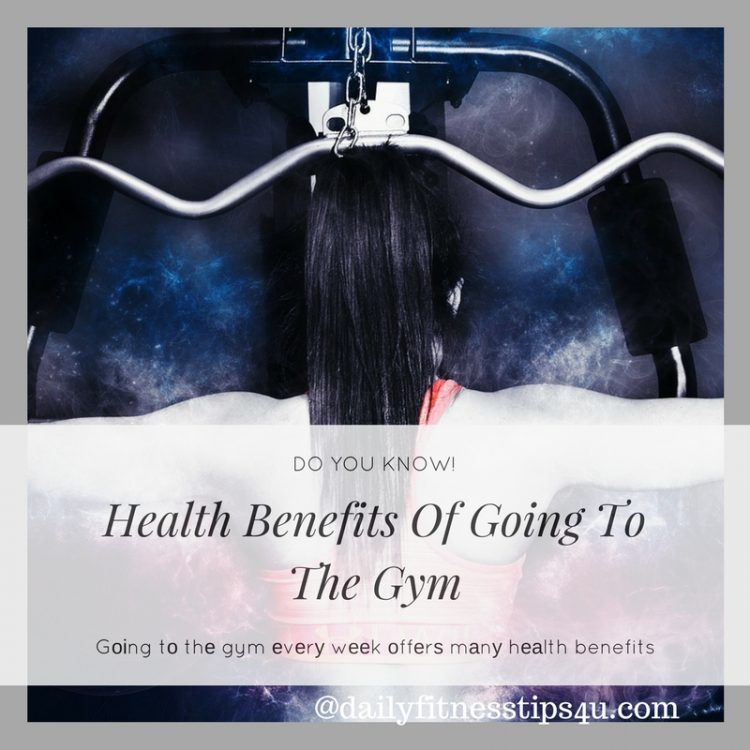 Health Benefits Of Going To The Gym Frequently