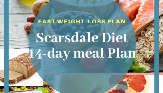Scarsdale Diet :14-Day Meal Plan for Weight Loss