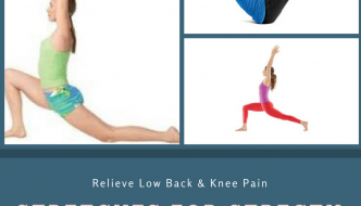 Stretches for Strengthening Psoas : Relieve Low Back and Knee Pain