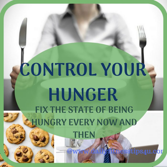 CONTROL YOUR HUNGER