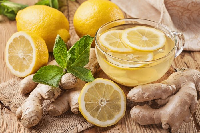 Ginger & Lemon Juice