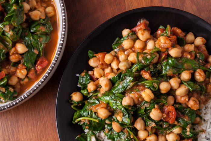 chickpea curry for 1500 calorie diet plan