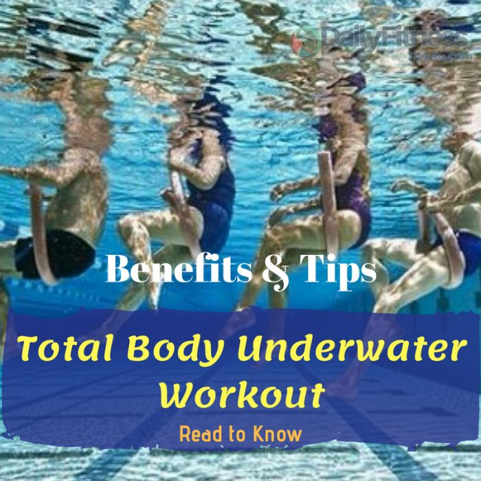 Total Body Underwater Workout