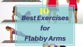 10 Best Exercises for Flabby Arms : Tone up your Arms