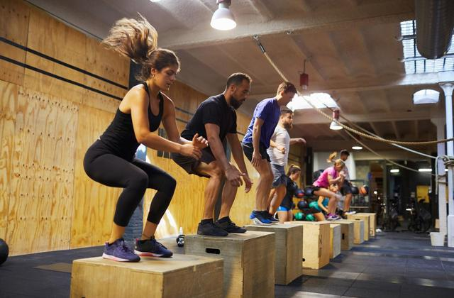 High-intensity-interval-training exercise