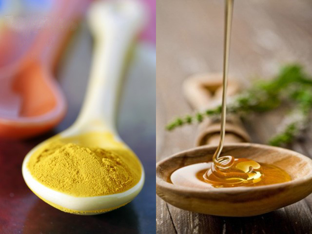 Honey and mustard powder