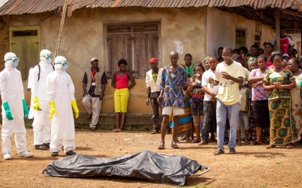 Try to avoid direct contact with safe burial practice for ebola virus