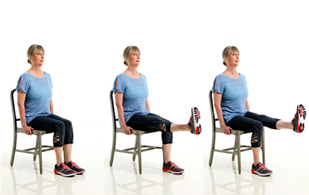 Isometric Knee Exercise
