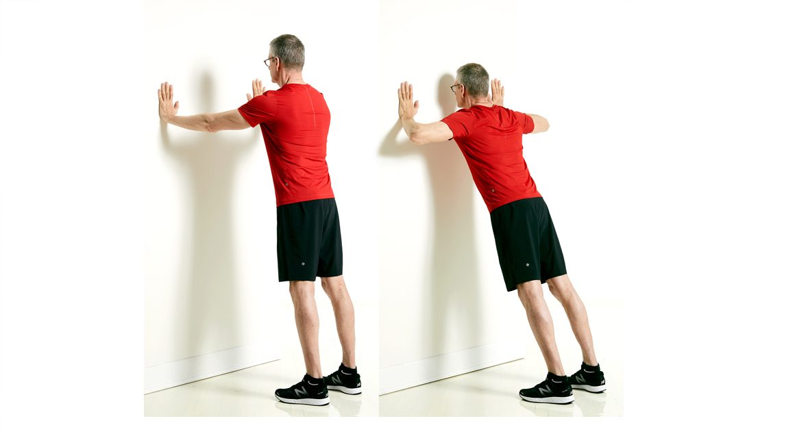 Wall Push-up