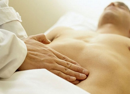 Abdominal Muscles Massage