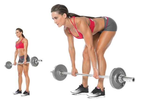 Conventional Barbell Deadlift