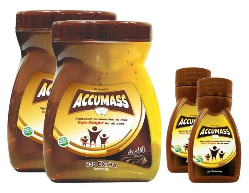Accumass Ayurvedic Capsules For Weight Gain