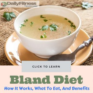 Bland Diet Benefits