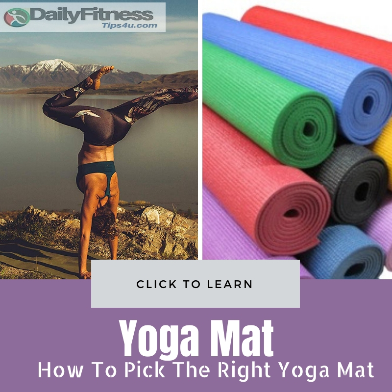 Pick The Right Yoga Mat