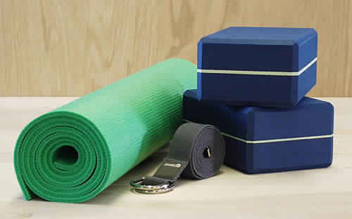 Yoga Blocks and Straps