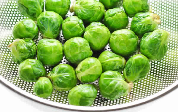 Roasted Brussels Sprouts with Lemon and Ginger 1 1