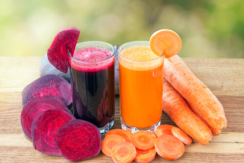 Carrot or Beet Juice