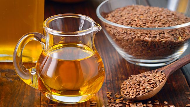 Flaxseed Oil Storage
