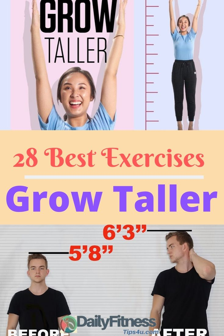 Exercises to Increase Height and Grow Taller