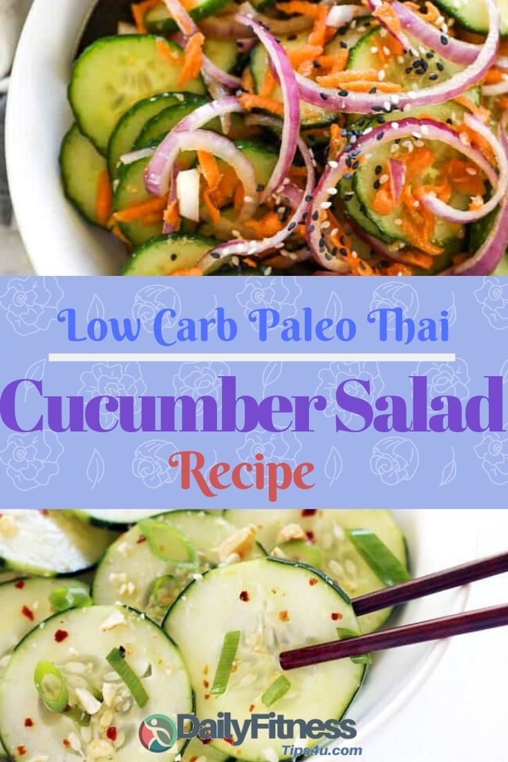 Paleo Thai Cucumber Salad Recipe