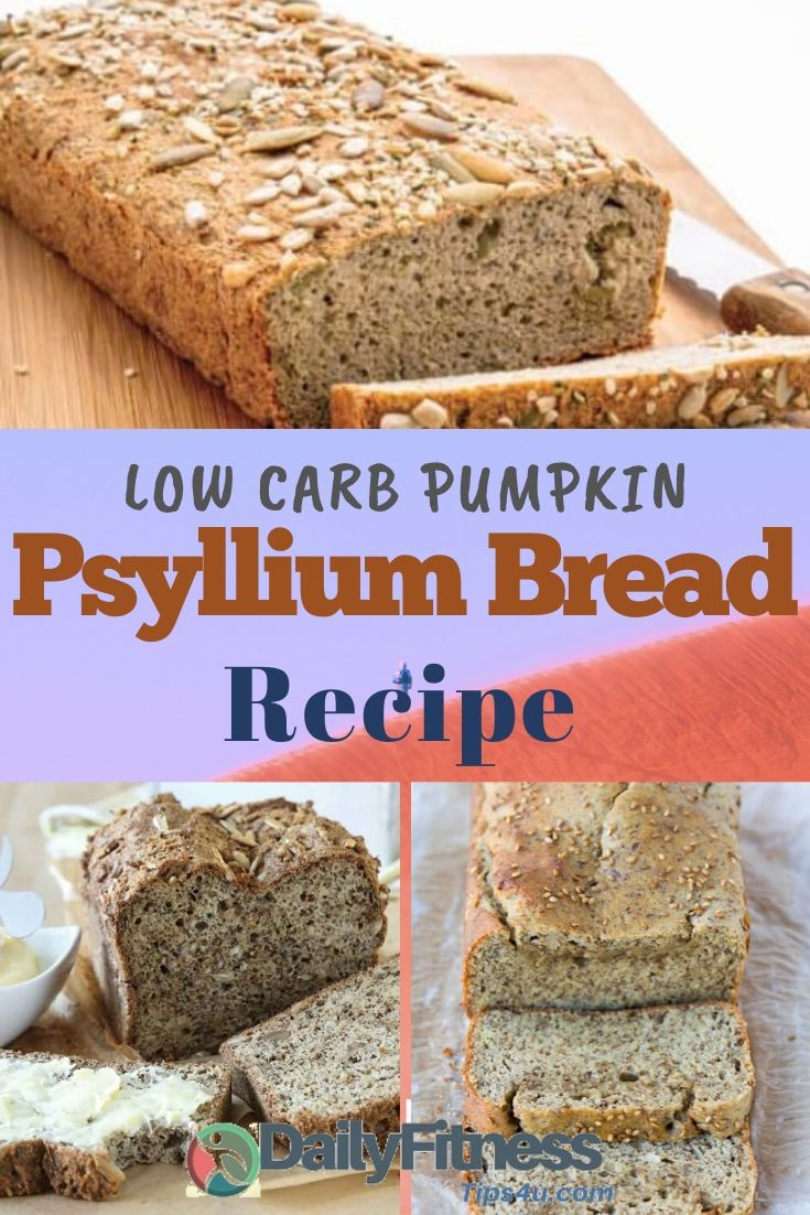Pumpkin Sunflower Seed Psyllium Bread Recipe