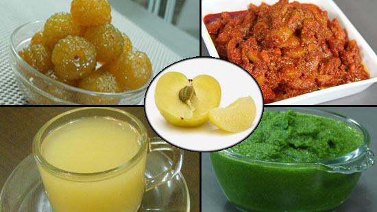 Enjoy Amla Recipes