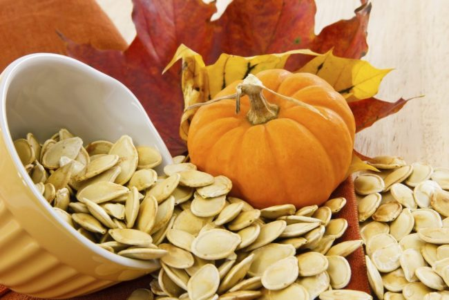 Pumpkin Seeds in Psyllium Bread Recipe