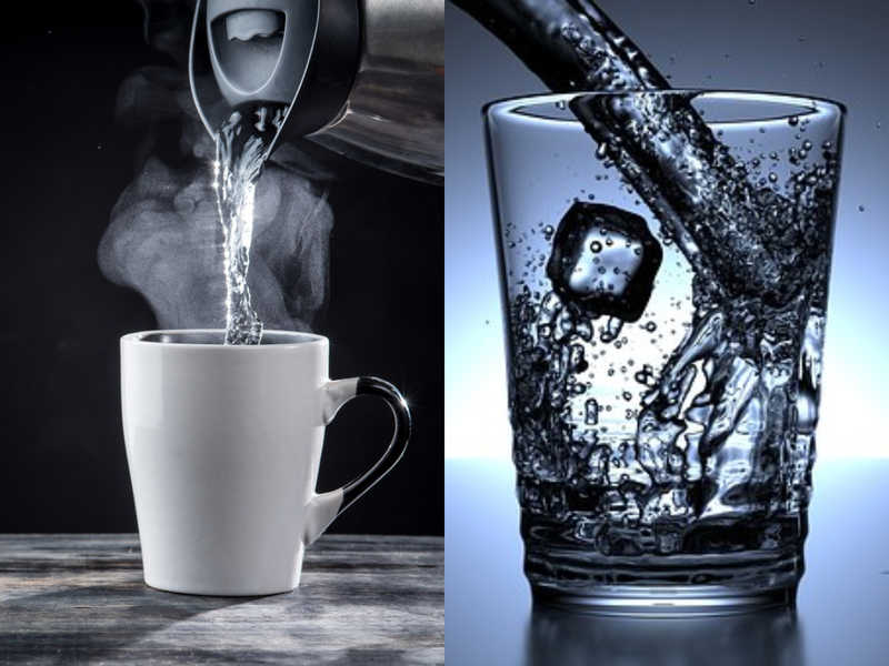 Drink Water Hot or Cold or Tepid