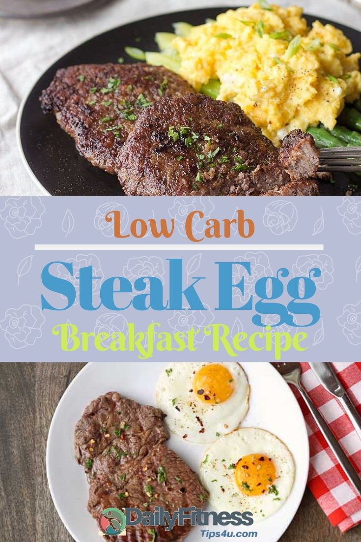 Low-Carb Steak Egg Breakfast Recipe