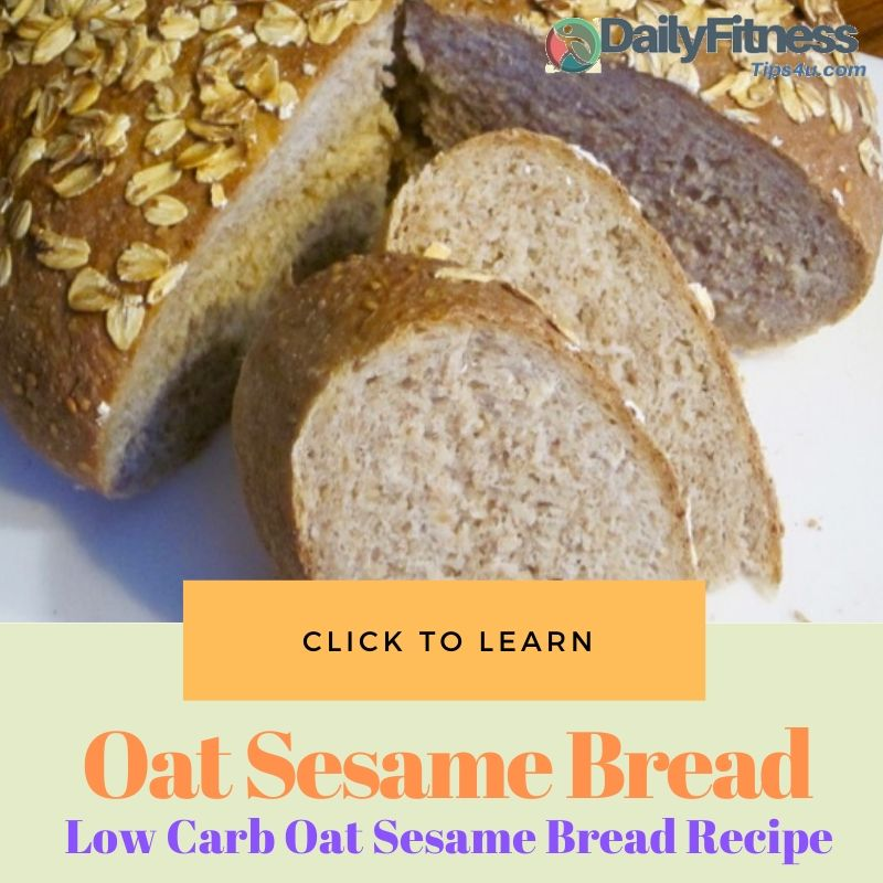 Oat Sesame Bread Recipe