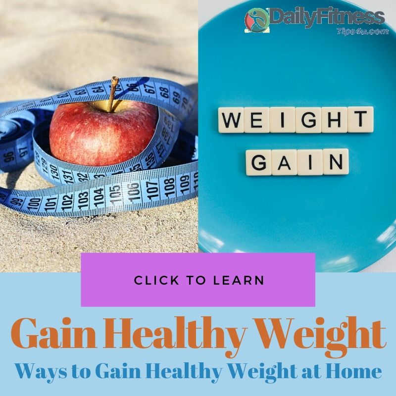 Gain Healthy Weight