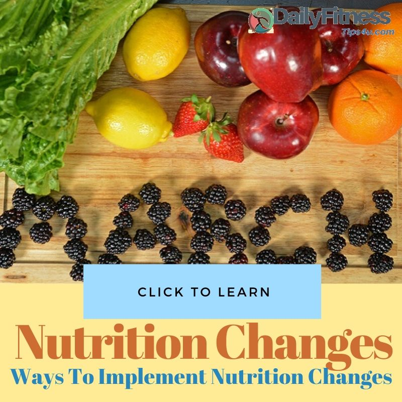 Nutrition Changes