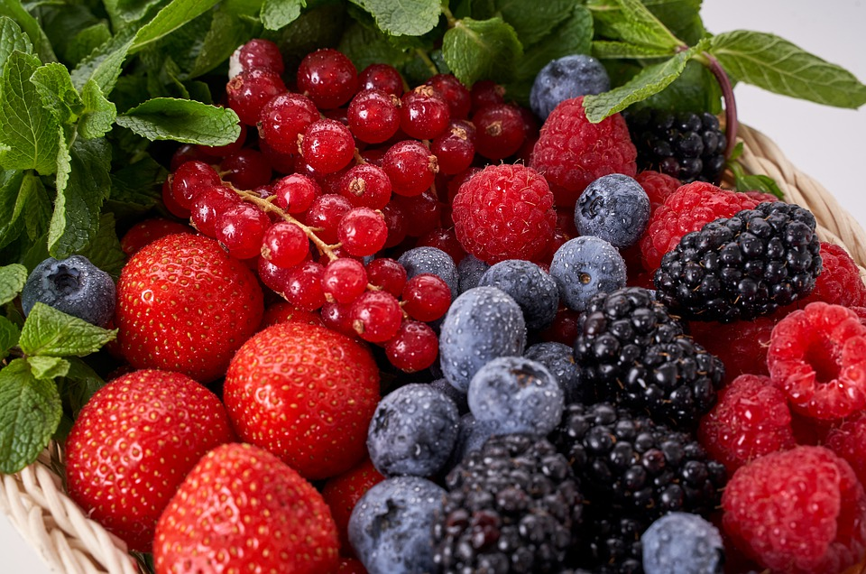 Replace Dried berries with Fresh Berries